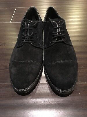 BRAND NEW ALFANI Men Shoes, Black Suede
