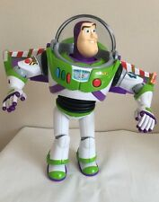DISNEY PIXAR TOY STORY BUZZ LIGHTYEAR SIGNATURE COLLECTION LIGHTS &SOUNDS DELUXE
