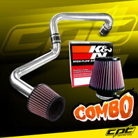 01-05 Honda Civic Automatic 1.7l Polish Cold Air Intake + K&n Filter