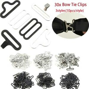 30pcs-SET-Useful-Bow-Tie-Hardware-Necktie-Hook-Bow-Tie-Cravat-Clips-Fasteners