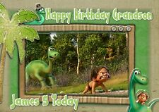 Personalised birthday card the good dinosaur son grandson daughter mj