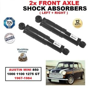 FRONT-LEFT-RIGHT-SHOCK-ABSORBERS-for-AUSTIN-MINI-850-1000-1100-1275-GT-1967-84
