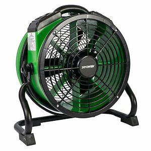Xpower X 34ar Industrial Sealed Motor Axial Fan Floor Air Mover W Power Outlets Ebay
