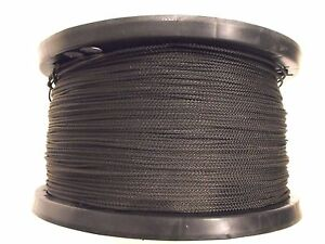 """Olive drab dacron 3/32"""" 3,000ft rope polyester Dipole Duck decoy Antenna line"""