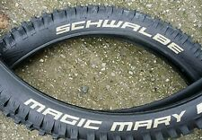 "2x Schwalbe tyres 27.5"" 650b Magic Mary bike Park downhill MTB DH PAIR 27.5X2.35"