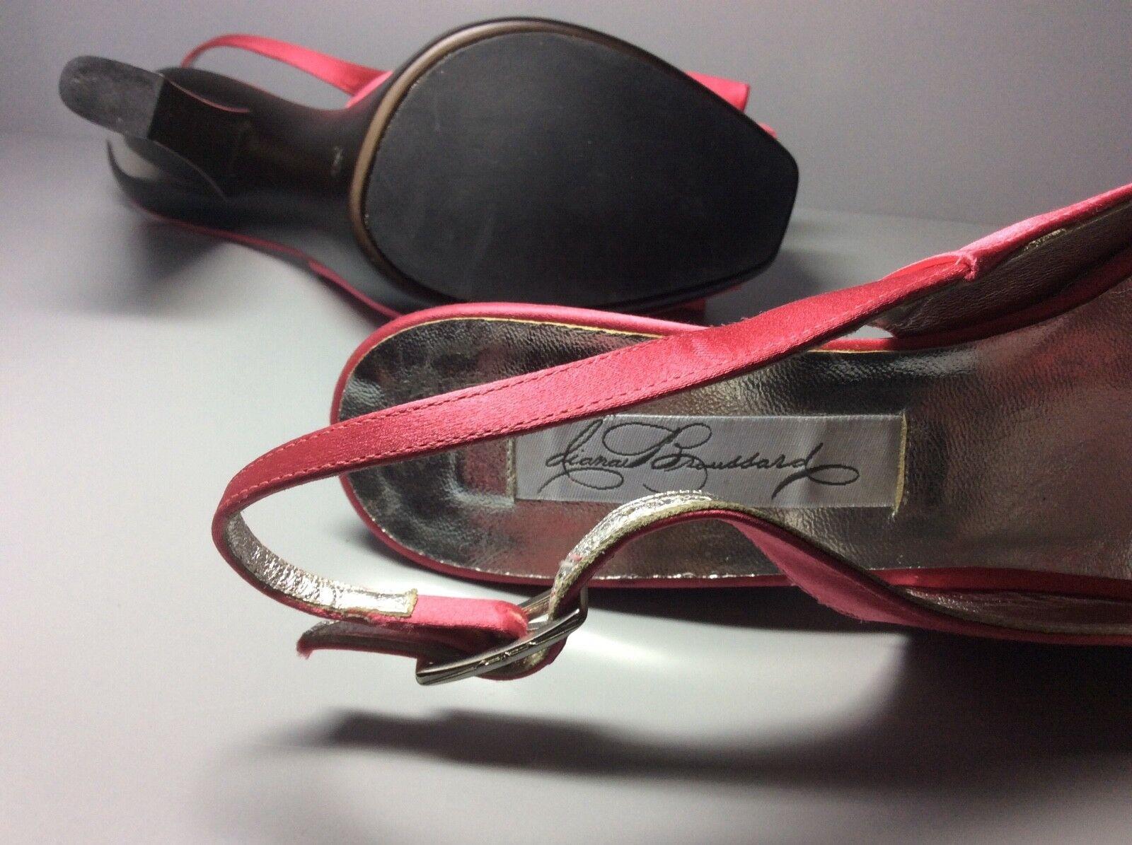 Damens's pink satin DIANA BROUSSARD heels Größe 39
