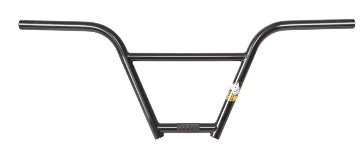S&M Bicicleta Fubar barras 9 pulgadas pulgadas de subida negro NINE 9  Bicicleta Bmx Fit BAR Fu Manillar