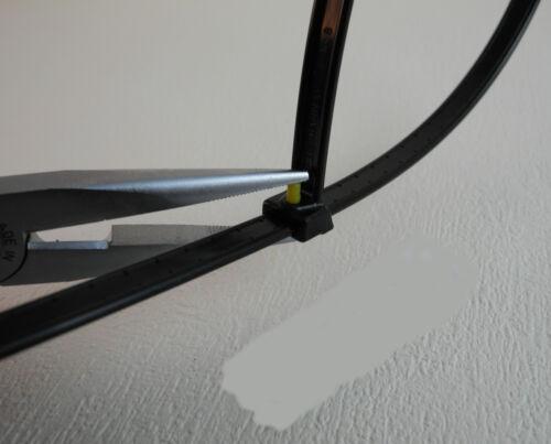 Kabelbinder Hellermann Tyton Typ KR 8//43 8mm breit 785 N 42cm lang 50 St.