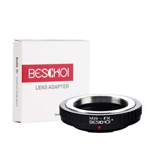 Beschoi-Lens-Adapter-Ring-for-Leica-M39-Lens-to-Fujifilm-FX-X-Series-Camera-Body