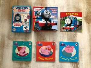 Responsable Thomas & Friends Interactif Flash Cartes, Thomas Histoire Du Temps Et Peppa Pig Bundle-afficher Le Titre D'origine AgréAble Au Palais