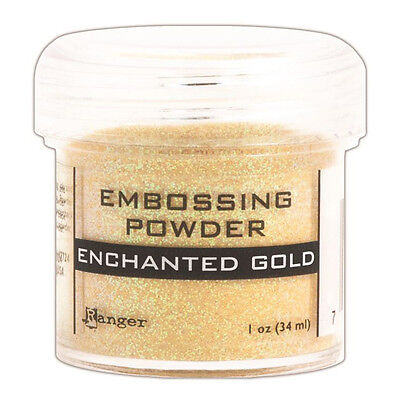 Ranger Embossing Powder 1oz Jar-Enchanted Gold