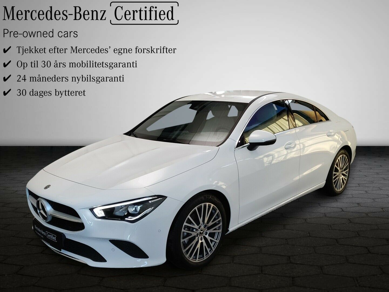Mercedes CLA200 1,3 Advantage aut. 4d - 409.900 kr.