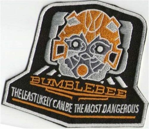 BUMBLEBEE TRANSFORMERS IRON ON PATCH  BUY 2 GET 1 FREE