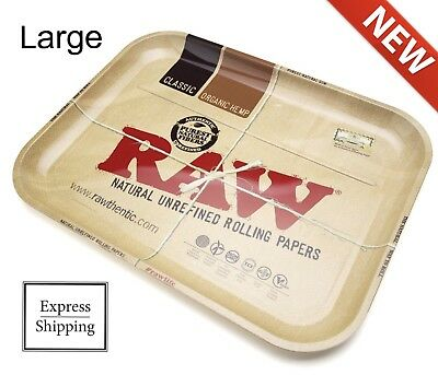 Raw NEW 2019 Delicious Doughnuts Rolling Tray Metal Large 14 x 11 Smoking Plate