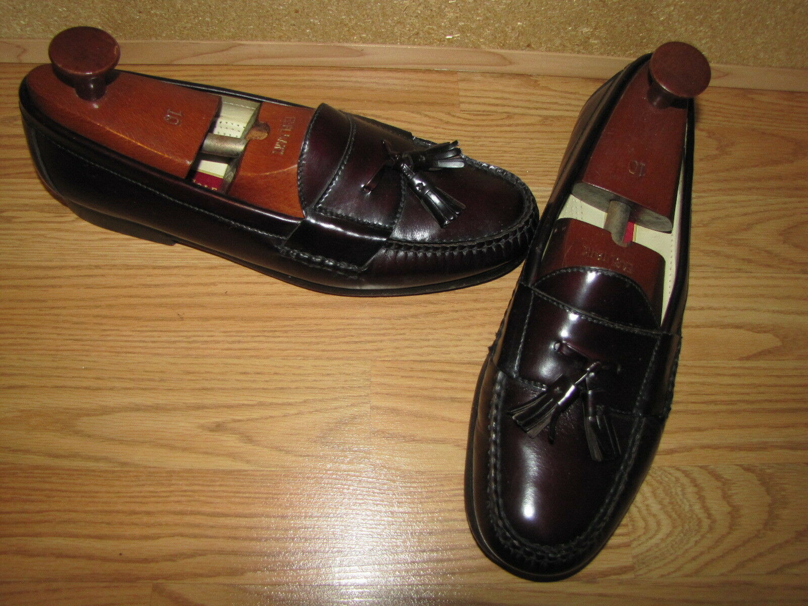 Cole Haan BurgundyTassel Loafers - 13D European 47 EUC