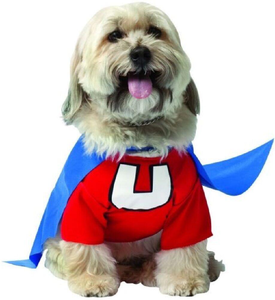 Haustier Hund Katze Underdog Superheld Halloween Kleidung Kostüm Kleid Outfit  | New Style