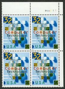 #3106 32c Ordenador Tecnología, Plt Negro [P111111 Ur ], Nuevo Cualquier 4=