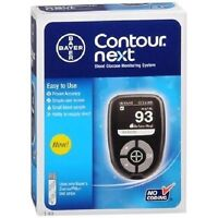 Bayer Contour Next 1 Kit No Coding Blood Glucose Monitoring System