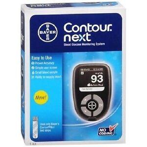Bayer Contour Next 1 Kit No Coding Blood Glucose