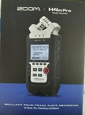 Zoom H4n Pro Handy Portable Recorder *SEALED & UNOPENED* *Ships Fast!*