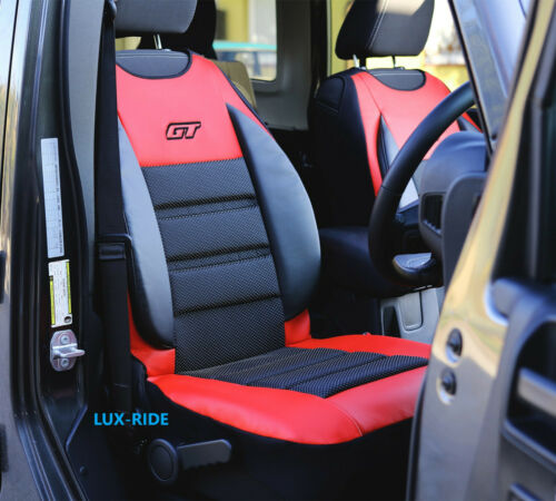 FRONT SEAT COVER MAT ARTIFICIAL LEATHER /& FABRIC FITS FORD FIESTA MK6 MK7 MK8