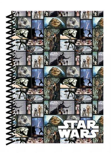 Star Wars blocs couverture souple doublé Officiel A5 Notebook Jabba Le Hut