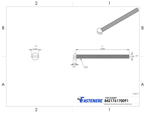 6-32 Brass Round Head Machine Screws Bolts Slotted Drive All Lengths Available