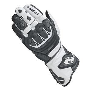 NEU-HELD-Evo-Thrux-2-Handschuhe-Kaenguruleder-schwarz-weiss-L-9-UVP-119-95