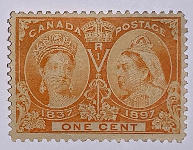 Travelstamps: 1897 Canada stamps Scott #51 Queen Victoria Jubilee Issue MNHOG