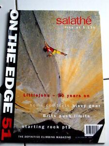 51 On The Edge Magazine Ote Escalade Alpin Alpinisme-afficher Le Titre D'origine Performance Fiable