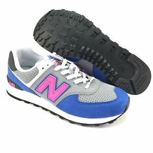 Detalles acerca de Para Hombre 574v2 vivos Cobalto New Balance Peonía  Clásico Zapatos Talla 11 D- mostrar título original