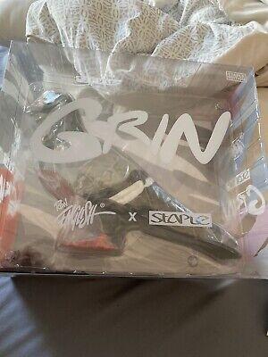 "Mono Pigeon Skull Grin 8/"" Vinyl Figure by Jeff Staple x Ron English Mighty Jaxx"