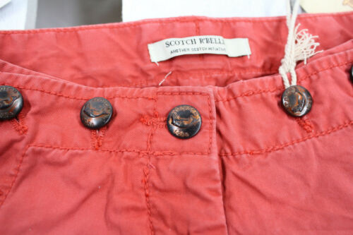 SCOTCH R /'belle Estate Shorts con bottoni marine Rosso Nuovo Taglia 104-164 Sale/%