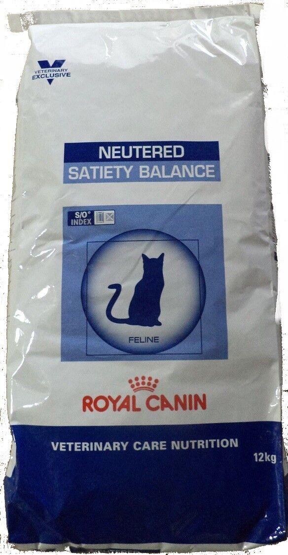 12kg Royal Canin Neutered SATIETY Balance cibo per gatti confezionamento siano danneggiati