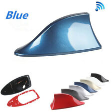 Universal Blue Auto Car SUV Roof FM/AM RV Radio Signal Aerial Antenna Shark Fin