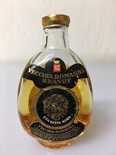 Mignon Miniature Vecchia Romagna Brandy Etichetta Nera Buton 30cc 40% Vol 13