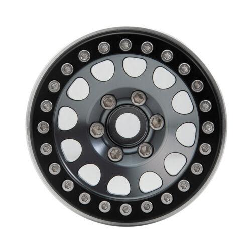 """4X 1.9/"""" Alloy Beadlock Felgen für 1//10 RC Crawler Axial SCX10 D90 90046 TRX4 TF2"""