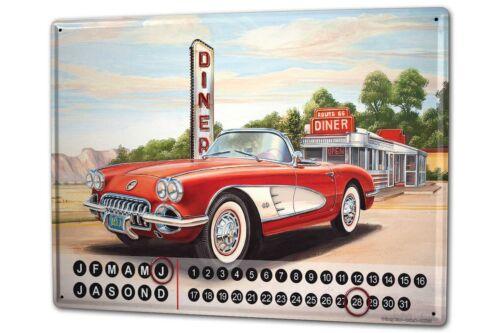 Dauer Wand Kalender Werkstatt Motiv G Huber Diner caprio Metall Magnet