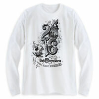 Sorcerer Mickey Mouse Long Sleeve Tee For Adults Walt Disney World Store 2016