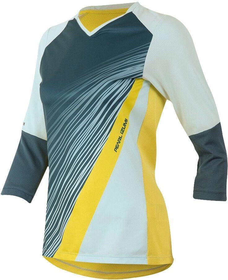 Pearl Izumi Launch Radshirt 3/4 Arm Damen Damen Damen Skylight M 2900d5