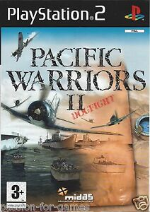 PACIFIC-WARRIORS-II-2-DOGFIGHT-for-Playstation-2-PS2-PAL