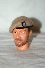 1/6 WW2 British SAS sand beret & cloth badge