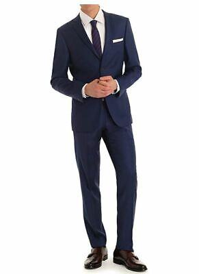 Braveman Mdrn Uomo 2 Piece Suit Model Mus02 Slim Fit 44r 38w Navy Ebay