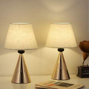 Set Of 2 Vintage Table Lamps Bedside