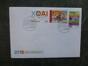 2015-LUXEMBOURG-COMMEMORATIVE-SET-OF-3-STAMPS-FDC-FIRST-DAY-COVER