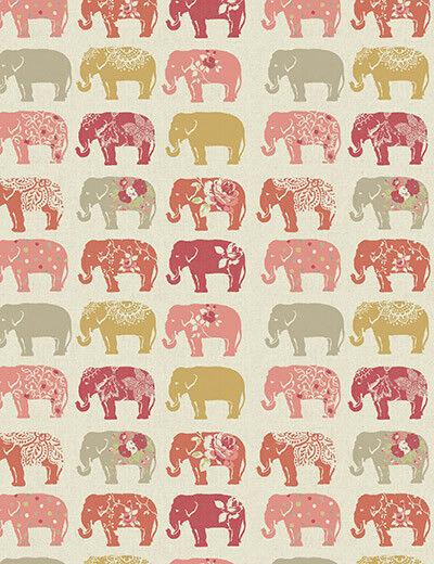 Éléphants Spice faite sur mesure ou motifs Stores Occultant ou mesure standard 0faee5