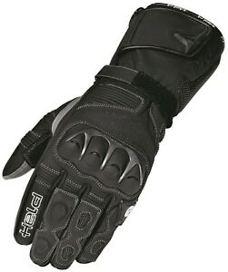 Held-Evo-Thrux-schwarz-robuste-sportliche-Damen-Motorrad-Racing-Handschuhe