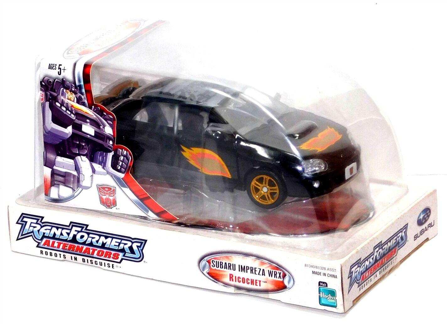Transformers Alternators  24 Scale Ricochet Subaru Impreza