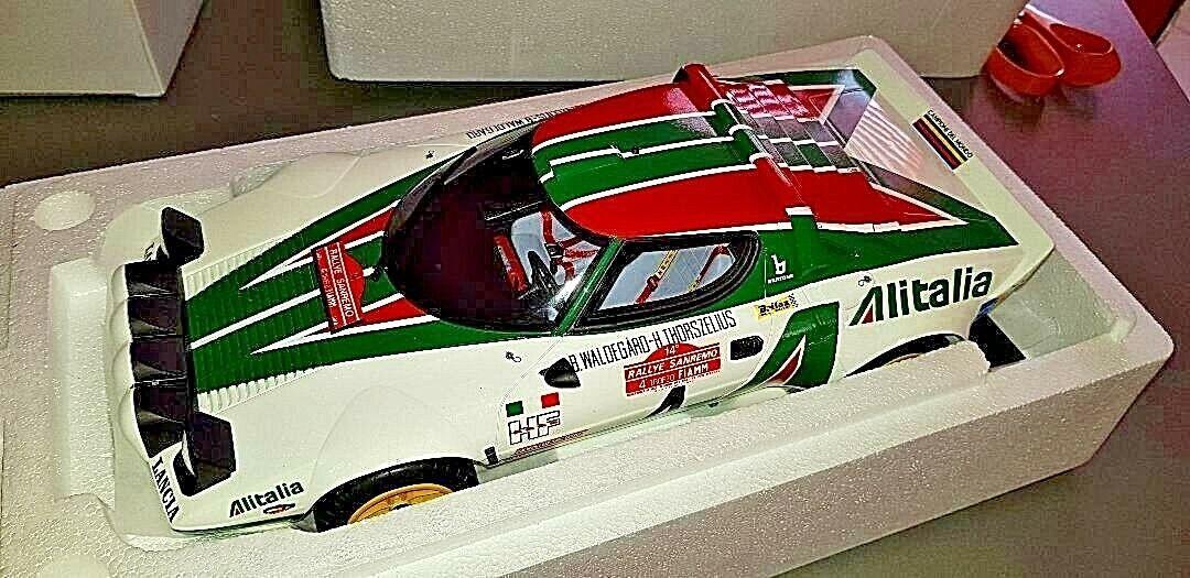 Lancia Stratos HF Rallye san remo winner alitalia Munari Otto nuevo  1 12 enorme