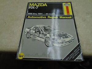 MAZDA Haynes RX7 RX-7 Used Repair Manual VP 1986-1991 VP-CM164